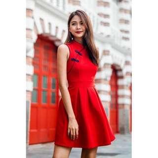 [MGP] GEM ORIENTAL CHEONGSAM IN RED