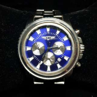 Invicta Watch for Men blue dial large watch