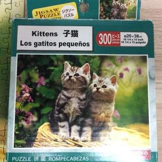 貓貓砌圖300 puzzle jigsaw