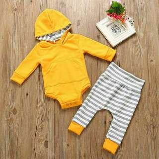 Pre-order. Baby Romper Set RM29 only