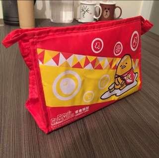 Gudetama 蛋黃哥 梳乎蛋 x 零食物語 收納包 筆袋 化妝袋 萬用袋