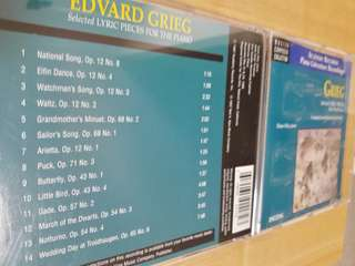 Grieg selected lyric pieces for the piano
