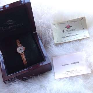 Authentic Rosemont Swiss Watch