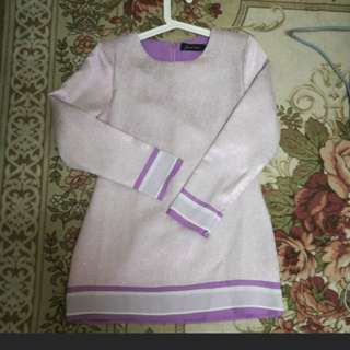 Baju Kurung light purple