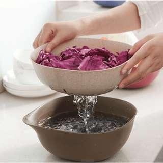 baskom untuk mencuci sayuran dan buah