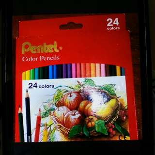 Pentel color pencils