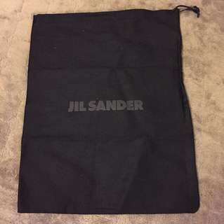 Jil Sander dust bag