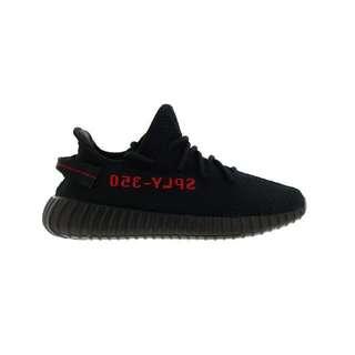 PO Adidas Yeezy Boost 350 V2 Black Red