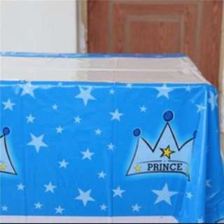 Baby prince 1st yo disposable table cloth