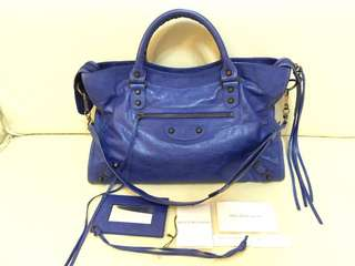 100% real Balenciaga 巴黎世家 city bag 手袋