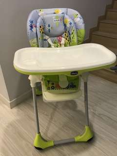 Polly 2 in 1 highchair