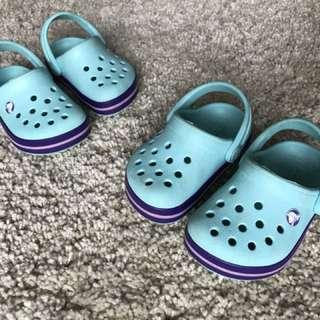CROCS Kids' Crocband Clog (Sandal Crocs)