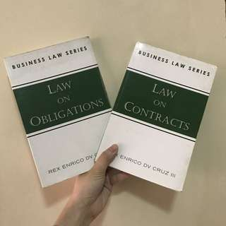 Business Law Series (Obligations and Contracts) by Rex Cruz