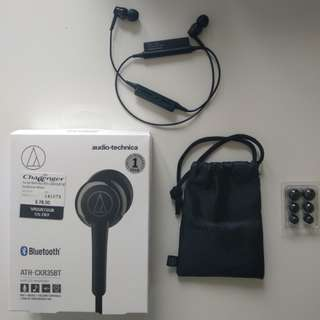 Audio Technica wireless earphones (Used)