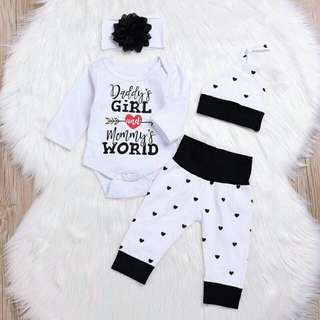Pre-order baby romper set Rm29 only