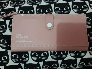 Dompet Pink Miniso