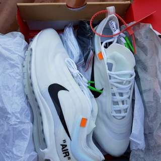 Nike air max 97 off white BNIB