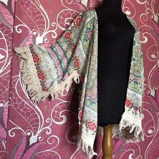 Kimono / outer / bohemian / Baju pantai