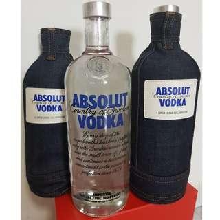 ABSOLUT VODKA Denim Skin Limited Edition