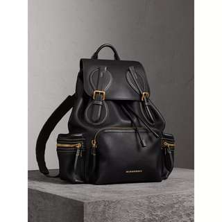 BURBERRY men leather backpack 背囊 bag 背包 袋
