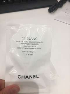 Chanel make up base