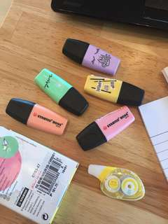Mini Pastel Highlighters