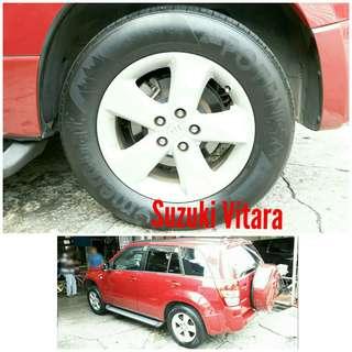 Tyre 225/65 R17 Membat on Suzuki Vitara 🐕 Super Offer 🙋♂️