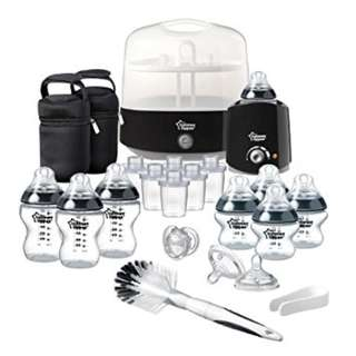 Tommee Tippee Complete Feeding Kit Bundle - Black