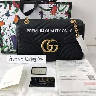 Ready Stock Boutique Quality Gucci Marmont size medium