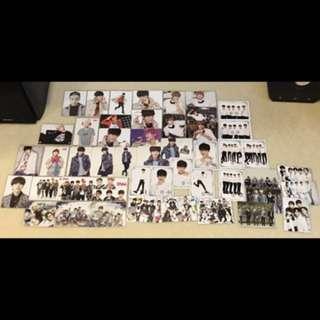 B1A4 JAPAN TRADING CARDS (JINYOUNG/SANDEUL/BARO/CNU/GONGCHAN)