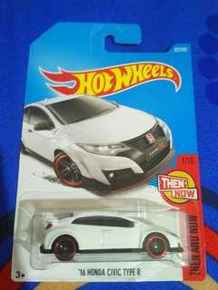 Hotwheels Civic type R