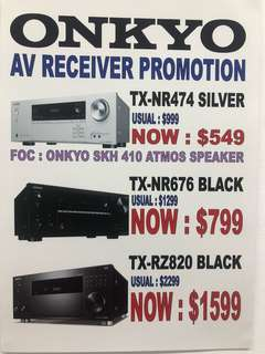 Onkyo receiver