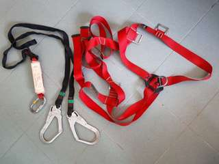 Camp safety harness