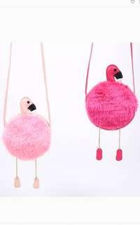 Flamingo sling bag