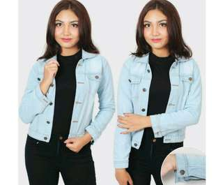 Jaket jeans wanita