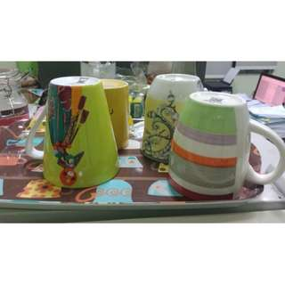 J06 Mug Gelas Colorfull