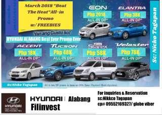 Hyundai Cars All in Promo