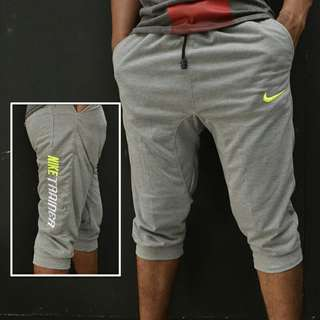 Sweatpants pendek nike trainer abu