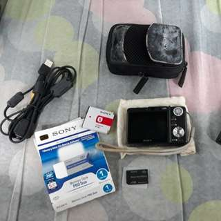 Sony Cybershot Dsc-W550 (full set)