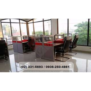 office partition - fabric with glass (30Hcm) cheapest price*