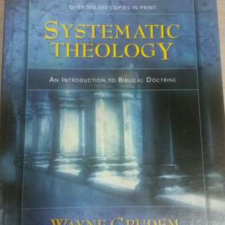 Christian systematic theology grudem