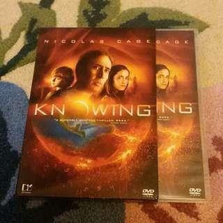DVD Nicolas Cage ~ Knowtng