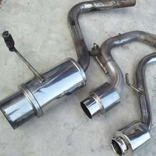 Exhaust mufler k-car spec