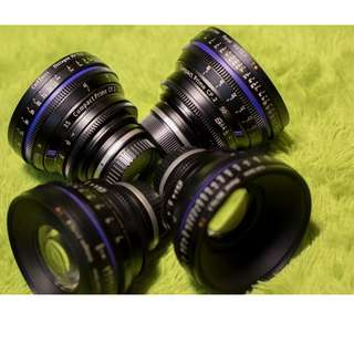 Zeiss Cp.2 21, 35, 50, 85mm Kit ( For Rent )
