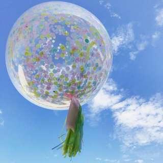 Helium Balloons - 36 Inch Confetti Ice Cream Balloon