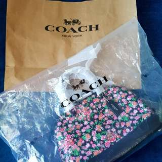 Coach Posey Cluster Floral Bag