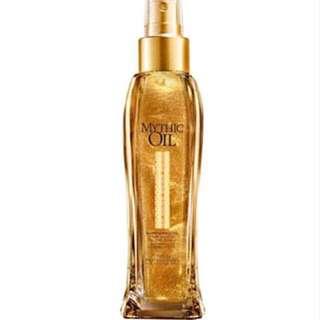 L'Oreal Mythic Oil Shimmering Gold Glitter Hair Body Serum