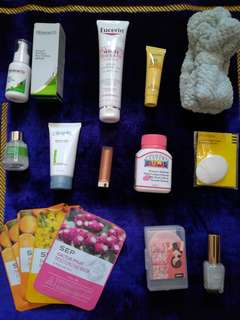 Skincare hiruscar eucerin cosmoderm sephora aster beaute 21st century yubiso Maybelline clinelle innerskin sep