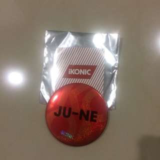 iKON JUNE BUTTON JAPAN TOUR FC GOODS
