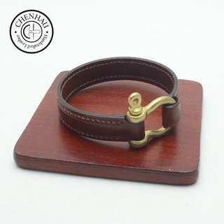 leather bracelet / handcraft / couples gift /valentine's day gift/